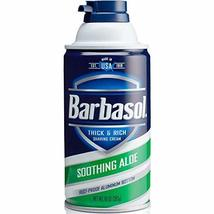 Barbasol Soothing Aloe Thick & Rich Shaving Cream 10 Oz 2 Pack image 5