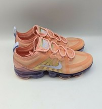 Nike Air VaporMax 2019 Women's Size 7 Bleached Coral Running Shoes AR6632 603 - $154.75