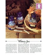 Whimsy Jars Bands Vanessa Ann Cross Stitch Pattern Leaflet - $0.89