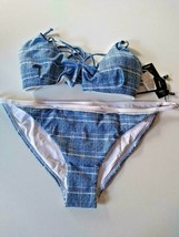 Tavik Off The Grid Pacific Blue Full Bikini Set Size Large image 1