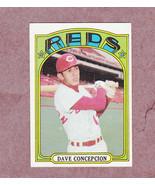 1972 Topps # 267 Dave Concepcion Cincinnati Reds Nice Card - $3.99