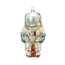"ASTRONAUT GLASS ORNAMENT 5"" Retro Space Suit Sci Fi Christmas Tree NASA ... - $19.95"