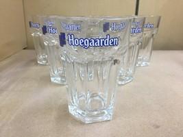 Hoegaarden .33 mil Beer Glasses - Set of (6) Six - in box - $19.79