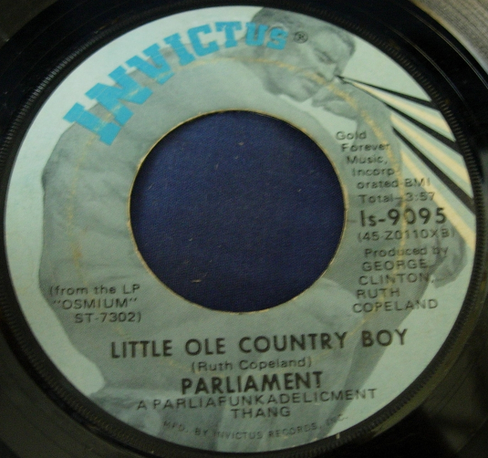 Parliament - Breakdown / Little Ole Country Boy - Invictus Is-9095