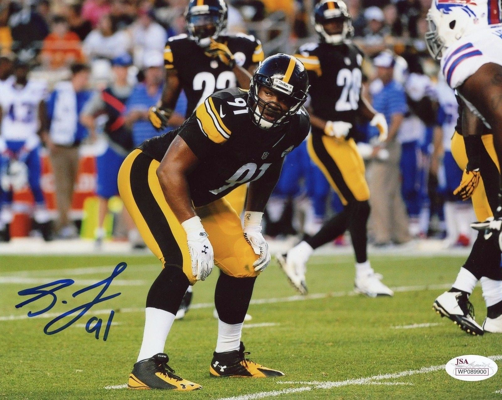 Pittsburgh Steelers Stephon Tuitt and 37 similar items. S l1600 615b308f0