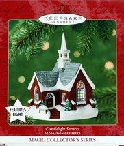 Hallmark 2001 Magic Series Candlelight Services #4 - Brick Chruch - $9.99