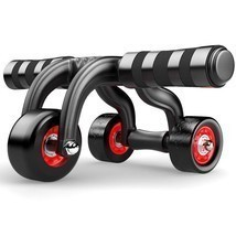 Abdominal Wheel Roller Coaster Home Sports Gym Fitness Waist Exercise Eq... - $63.10