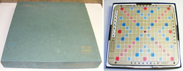 Vintage © 1977 Selchow & Richter Scrabble Deluxe Ed. Turntable Board - C... - $35.00