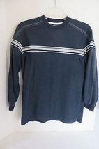 Boys Xtreme Quality Blue Long Sleeve Cotton Blend Shirt Size M - $7.69