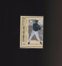 1999 Upper Deck Textbook Excellence T27 Ken Griffey Jr Seattle Mariners - $1.00