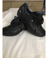 Rockport Black Leather casual shoe size 8.5W - $55.00