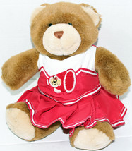"Build a Bear Workshop 12"" BROWN TEDDY CHEERLEADER OUTFIT Stuffed Plush T... - $16.54"