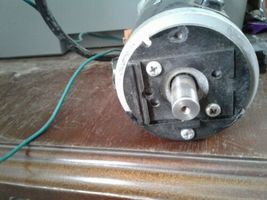 Electric Motor Bs801-002 beat up from storage see pics. image 5