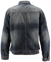 Men's Classic Long Sleeve Cotton Button Up Empire Denim Jean Jacket Size 2XL image 2