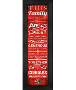 Southern Illinois University Edwardsville - 24 x 8 Family Cheer Framed P... - $39.95