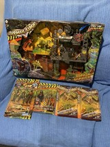 The Corps! Jurassic Clash Dino Bunker Lanard Toys Articulates Action Figure lot - $84.15