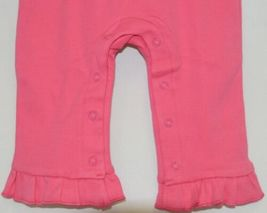 Blanks Boutique Long Sleeve Pink Snap Up Ruffled Romper 12 months image 4