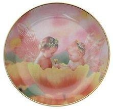 Danbury Mint c1998 The Fairy Children Poppy Love Valerie Fabor-Smith CP1709 - $35.67