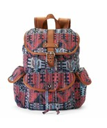 Mudd Brennan Tribal Print Backpack School Book Bag - NWT - $35.09