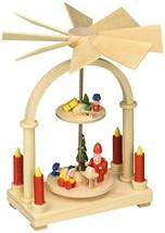 Alexander Taron 074-145 Dregeno Mini Pyramid-Santa with Toys-2-tiers-4.5... - $71.83