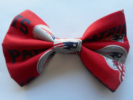 Patriots Big Bow Girls Barrette - $8.00