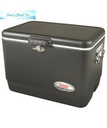 Coleman Steel-Belted Portable Cooler, 54 Quart - £73.64 GBP