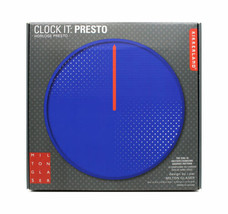 KIKKERLAND Clock It: Presto Horloge Presto Milton Glaser Graphic Changin... - $69.04