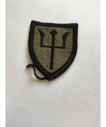2 1/2 Inch Military Green And Black Sew On Patch - $6.15