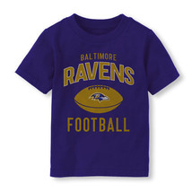 NFL Baltimore Ravens  Boy or Girl T- Shirt  Infant/Toddler 18-24M or 2T ,3T,4T - $17.99