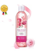 Rose Petals Essence Water Face Toner Shrink Pores Anti-Aging Whitening S... - $24.70
