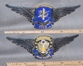 Big! Wings Shaped Army Aviation Judge Advocate Challenge Coin Rare Price Reduced - $35.63