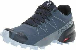 Salomon Women's Speedcross 5 trail-running shoes Sargasso Sea/Navy Blazer New! - $120.99