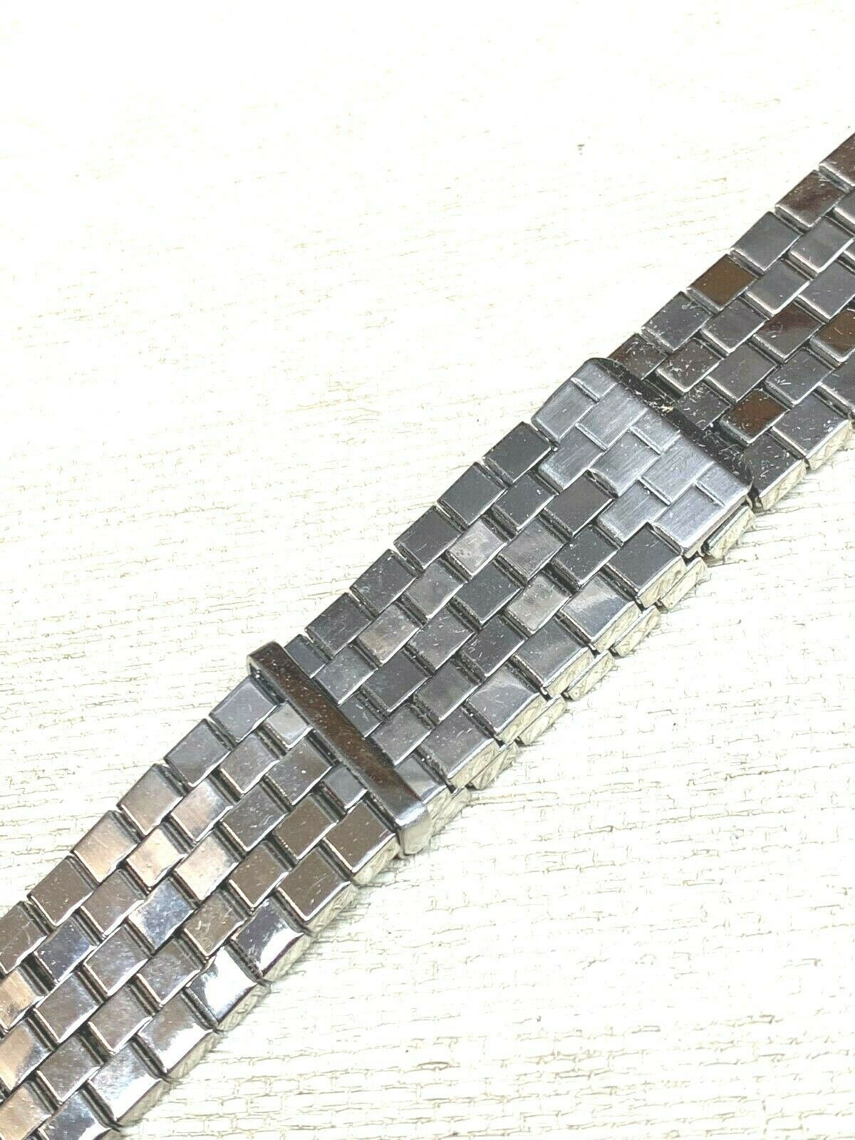 New Vintage expansion watch band stainless steel adjusting BOWLES Flex image 3