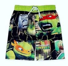 MUTANT NINJA TURTLES UV-50 Bathing Suit Swim Trunks NWT Boys Size 4 5 6 ... - $16.75