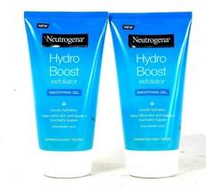 2 Count Neutrogena 5.07 Oz Hydro Boost Smoothing Gel Hyaluronic Acid Exfoliator - $31.99