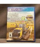 Farming Simulator 17 Walmart Exclusive (Sony PlayStation 4, 2016) PS4 Vi... - $18.62