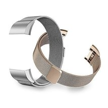 Fitbit Charge 2 Bands, Tecson Stainless Steel Metal Milanese Replacement - $218,32 MXN