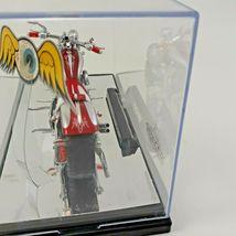"Von Dutch Kustom (1:18) ""Dragnut"" Red Motorcycle Diecast, by Jada Toys / Loose image 6"