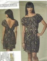 1207 sin Cortar Vogue Patrón de Costura Misses Vestido Cerrar Ajuste un ... - $8.94