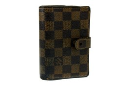 100% Authentic Louis Vuitton Damier Portefeuille Viennois Bifold Wallet ... - $167.31