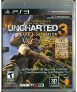Uncharted 3 Drake's Deception GOTY Edition | PlayStation 3 PS3 | Complete - $3.95