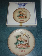 Vintage 1979 The Singing Lesson Hummel GOEBEL Collector's Plate With Box! - $12.89
