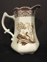 "Godinger ""Antique Reflections"" 10"" Decorative Transferware Pitcher - $10.99"