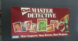 Vintage Clue Master Detective Game by Parker Brothers 1988 Complete - $17.81