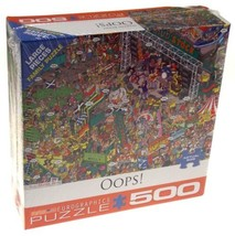 Oops 500 Pc Jigsaw Puzzle Eurographic Martin Berry 19x26 Festival Adult ... - $14.99