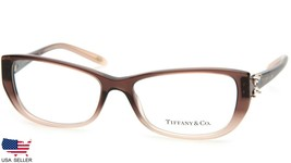 New Tiffany & Co Tf 2044-B 8127 Brown Gradient Eyeglasses Frame 55-16-135 Italy - $143.39