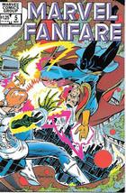 Marvel Fanfare Comic Book #5 Marvel Comics 1982 NEAR MINT NEW UNREAD - $4.99