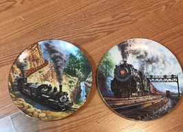 The Golden Age of American Railroads Train Locomotive Collector Plate - ... - $18.29
