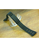 Black Metal Link Bracelet Watch Band for Ladies 12mm-14mm Two-Tone - $9.49