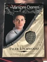 Vampire Diaries Season 1 Wardrobe Card M19 Michael Trevino as Tyler Lock... - $14.85